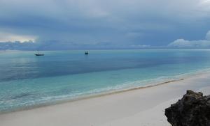 Piękne morze, tylko za granicą